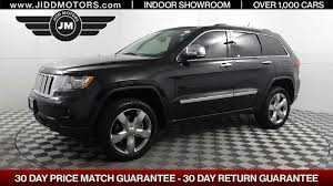 jeep grand cherokee overland used 2013 jeep grand cherokee overland stock 5937 jidd motors