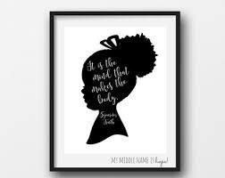 printable history quotes frederick douglass quote black history printable word art