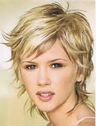 shag hairstyle for fine hair and round face short hairstyles for fat faces and double chins findmemes com