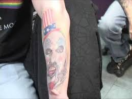 hawk demo tattoo horror sleeve part 1 captain spaulding house of