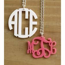 monogram necklace pendant pendant monogram necklace my capital letters