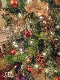 Brown Christmas Tree Decorations by Succulents U0026 Spruce Christmas Tree Dream Tree Challenge Diy