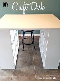 diy craft table ikea craft desk hack hip moms craft desk diy craft table cheap