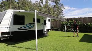 Awnings For Caravan Caravan U0026 Rv Awning Tie Down Straps Youtube