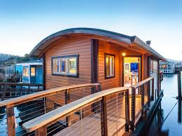 Floating Home Floor Plans Sausalito Houseboat A Small Custom Houseboat In Sausalito