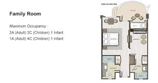 family room floor plans family room padma resort legian