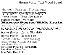 6 different fonts scary images scary halloween fonts free