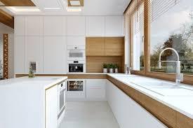 cuisine moderne bois clair cuisine moderne bois chêne 36 exemples remarquables à profiter