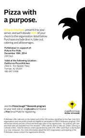 California Pizza Kitchen Rewards by Thursday December 18th U2026 Dine At California Pizza Kitchen Future