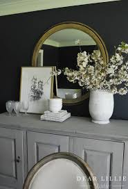 dear lillie apple blossoms in the dining room and some new