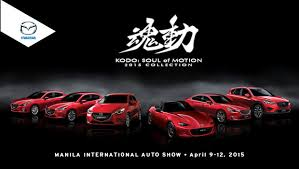 mazda car line mazda philippines storms mias with largest new collection ever