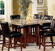 furniture black leather dining chairs cream seat pads for dining