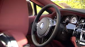 bentley wraith roof rolls royce wraith interior youtube