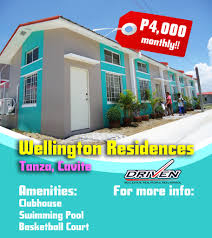 rent to own house in cavite wellington residences tanza cavite