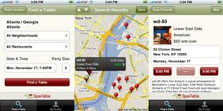 open table reservation system opentable iphone app easiest most soulless restaurant reservations