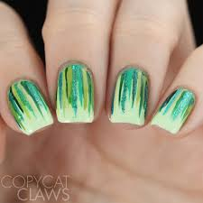 copycat claws 26 great nail art ideas green freestyle