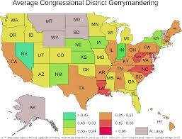 Ohio Congressional District Map by The Art Of Gerrymandering U2013 Part Iii