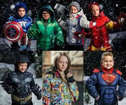 exclusive marvel and dc ics coats from fun fun blog