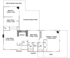 guest house floor plan floor plans detached guest house