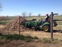 preparing a raised row garden humble little homestead