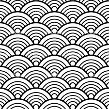 japanese pattern black and white black white traditional wave japanese chinese seigaiha pattern