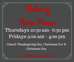 store hours the provision house