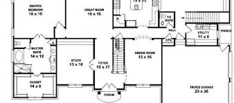 5 Bedroom House Plan by Floor Plan With 5 Bedrooms House Plans Floor Plans Home Plans