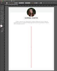 Adobe Illustrator Resume Template Adobe Illustrator Tutorial How To Create An Impressive Cv