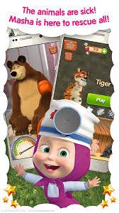 masha bear vet clinic android apps google play