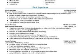 Executive Secretary Resume Sample by Perfect Secretary Resume Reentrycorps