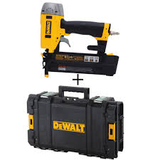 Husky Floor Nailer by Husky 16 Gauge Straight Nailer Hfn64 The Home Depot