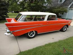 nomad car for sale chevrolet chevy nomad bel air 2 door wagon