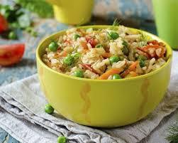 cuisiner des petits pois recette riz pilaf au poulet carottes et petits pois vite fait
