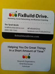 Social Network Business Card 10 Business Card Mistakes You Might Be Making