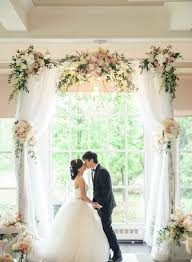 wedding arch backdrop incredibly flower wedding arches and alters ideas