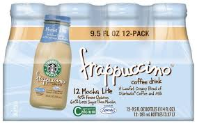 mocha frappuccino light calories starbucks mocha light frappuccino coffee drink 12 pack 9 5 fl oz