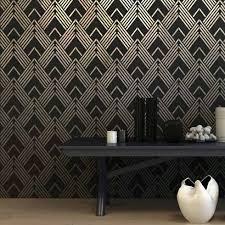art deco stencils glamorous wallpaper stencils for diy decor