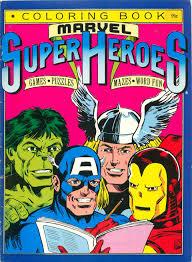 avengers coloring puzzle book asks solve puzzle