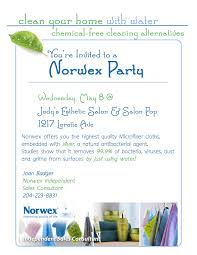 Home Interiors Party Consultant Norwex Party Invitation Blueklip Com