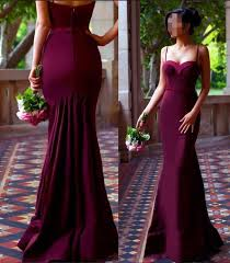 aliexpress com buy 2017 new sweetheart burgundy bridesmaid