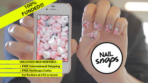 nailsnaps turn your photos into nail polish stickers by angel