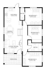 small modern floor plans modern home designs and floor plans