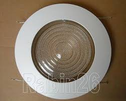 halo 6 inch recessed lighting 6 inch recessed can light shower trim glass clear lens fits halo