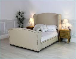 elegant king wingback bed upholstered king wingback bed u2013 modern
