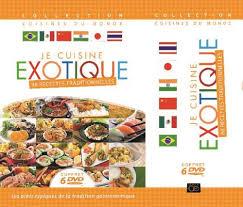 dvd recettes de cuisine coffret je cuisine exotique dvd dvd zone 2 achat prix fnac