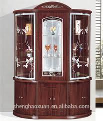 Glass Bar Cabinet Wooden Antique Bar Cabinet Living Room Cabinets Glass Wine Bar