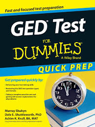 amazon com ged test for dummies quick prep for dummies career