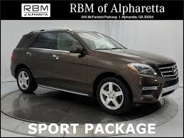 mercedes 2014 suv certified pre owned 2014 mercedes ml 350 sport suv in