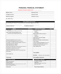 statement form in pdf letter format pdf financial statement form