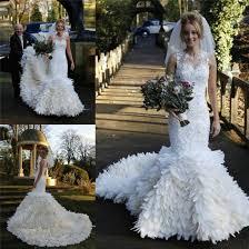 feather wedding dress dress feather wedding dress mermaid wedding dress vintage lace